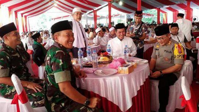Walikota Serang Buka Puasa Bersama TNI-Polri