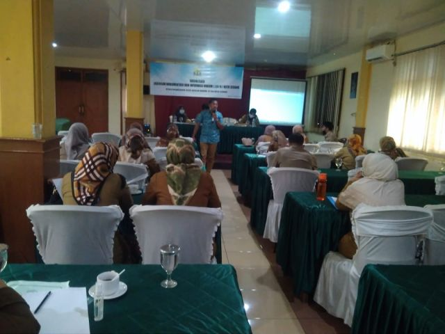 Rapat Sosialisasi Jaringan Dokumentasi Informasi Hukum